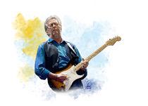 Eric Clapton by Lothar R. Fanslau