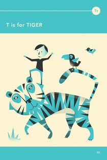 T IS FOR TIGER by Jazzberry  Blue