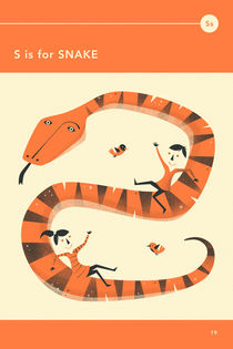S IS FOR SNAKE by Jazzberry  Blue