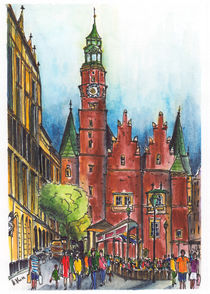 Breslau, Rathaus by Hartmut Buse