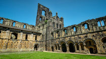 Kirkstall Abbey Cloisters by Colin Metcalf
