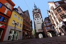 Altstadthäuser Freiburg by Patrick Lohmüller