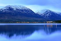Fjord Eyjafjördur Akureyri Island  by Patrick Lohmüller