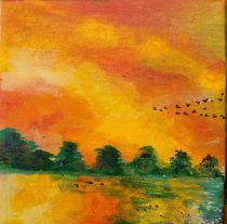 Evning sky by IDITH ALFASI