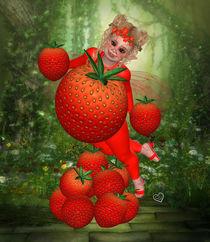 Erdbeer Pummelfee von Conny Dambach