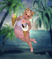 Pummelfee mit Eis von Conny Dambach