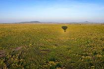 Balloon flight by Pieter Tel