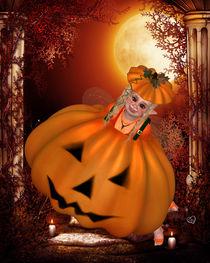 Pummelfee feiert Halloween von Conny Dambach