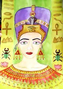 Nefertiti von nellyart