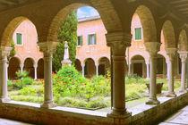 VENEDIG - Altes Kloster mit ruhigem Innenhof und Kreuzgang - von Wolfram Schramm
