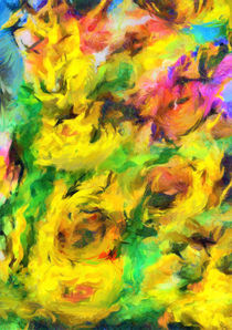 Sunflowers 23 von wimvandewege