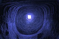 Blick ins Universum - blau von Peter Holle