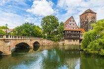 Maxbrücke und Weinstadl Nürnberg 57 von Erhard Hess