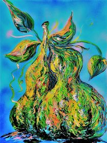 Abstract Pears by eloiseart