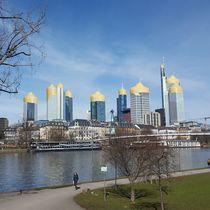 Frankfurt is burning 1 by Dirk Hendriks