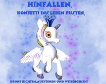 Einhorn - Unicorn von Conny Dambach