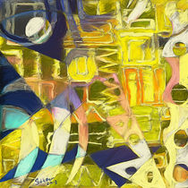 Lemon Krasner (Triptych A) by rolandsaldivar