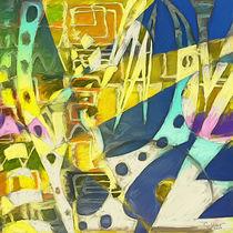 Lemon Krasner (Triptych C) by rolandsaldivar