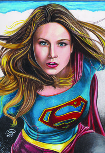 Girl of Steel (Supergirl by Sergio Pasqualino