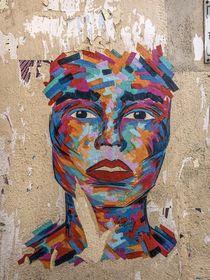 Marseille Grafitti I by Michael Schulz-Dostal