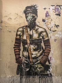 Marseille Grafitti II by Michael Schulz-Dostal