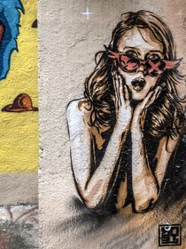 Marseille Grafitti III by Michael Schulz-Dostal