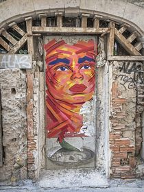 Marseille Grafitti V by Michael Schulz-Dostal