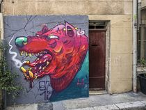 Marseille Grafitti VII by Michael Schulz-Dostal