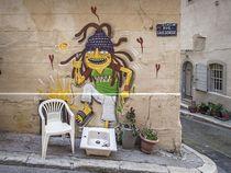 Marseille Grafitti VIII by Michael Schulz-Dostal