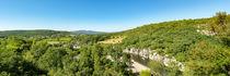 Blick auf den Fluss Ardèche im Süden Frankreichs in dem Départment Ardèche 3 von Thomas Klee