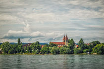 Säulenbasilika St. Peter und Paul auf der Insel Reichenau - Bodensee von Christine Horn