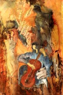 Cellistin by Johanna Löffler