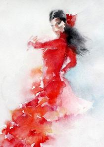 Flamenco 2 von Christelle Guedey