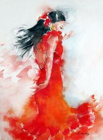 Flamenco 1 von Christelle Guedey