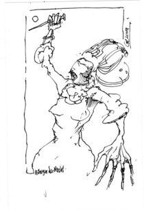 Königin der Nacht von Stephan Rodriguez-Warnemünde