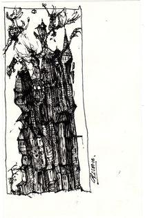Turmbau zu Babel by Stephan Rodriguez-Warnemünde