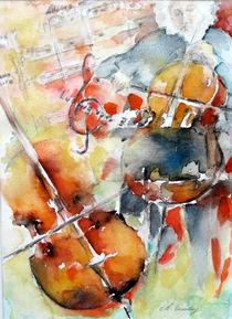 Mischa Maisky von Christelle Guedey