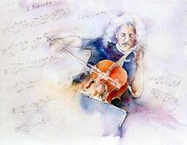 Mischa Maisky by Christelle Guedey