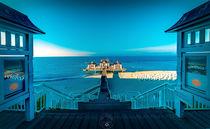 Seebrücke im Sonnenschein by Oliver Hey