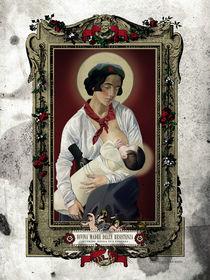 Divina Madre della Resistenza by ex-voto