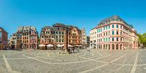 Marktplatz Mainz (4.2) by Erhard Hess