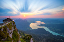Himmelspforte bei Sonnenuntergang by photoplace