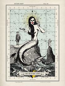 Sirena Calavera by ex-voto