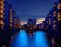 Wasserschloss Speicherstadt von Oliver Hey