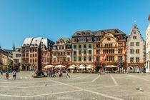 Marktplatz Mainz 83 by Erhard Hess