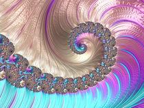 Iridescent Spiral by Elisabeth  Lucas