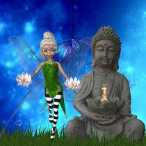 Buddha und die Elfe by Conny Dambach