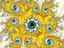 Yellow Spiral Dance von Elisabeth  Lucas