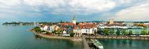 Friedrichshafen am Bodensee - Friedrichshafen on Lake Constance von Thomas Klee