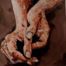 Warm Hands I von Marittie  de Villiers
